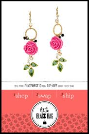 zad earrings 50 best betsey johnson jewelry collection images on