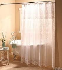 Comfort Bay Curtains Comfort Bay Anna Lace Panel With Attached Valance 58