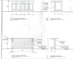 typical kitchen island dimensions kitchen base cabinet height what is standard within 35