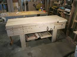 Woodworkers Bench Plans Finally Got Around To Building My Nicholson Bench I Do Not Miss