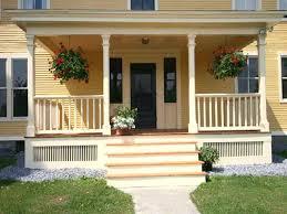 Split Level Front Porch Designs Front Porch Designs For Brick Ranch Homes Deck Style Columns