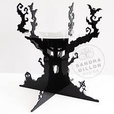 halloween cake stand the haunted tree cake stand sandra dillon design