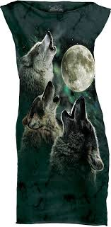 three wolf moon mini dress the mountain uk t shirt dress