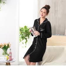 winter maternity clothes winter maternity nightdress nursing pajamas cotton pyjamas