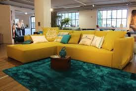 furniture colorful leather sofa for living room modern having