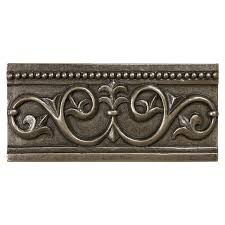 shop anatolia tile bronze metal crown tile common 3 in x 6 in