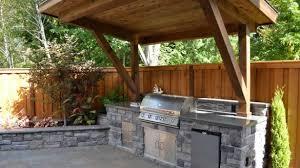 back yard kitchen ideas backyard kitchen ideas per design covered outdoor kitchens