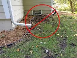 gutter downspout drainage gutters ideas