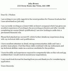 cover letter for finance job analyst cover letter example