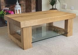 glass coffee table with glass shelf inspiring oak and glass side table with oak glass coffee table home