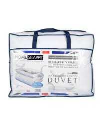 What Does 10 5 Tog Duvet Mean Duck Feather And Down 15 Tog Duvet Homescapes