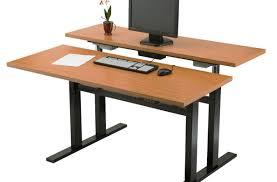 Diy Work Desk Lovely Awe Inspiring Adjustable Work Desk 2 Fully Standing Desks