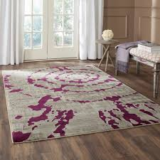Purple And Grey Area Rugs Purple And Grey Rugs Area Rug Room Contemporary V43 41