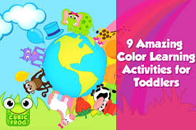 9 amazing free color learning activities for toddlers
