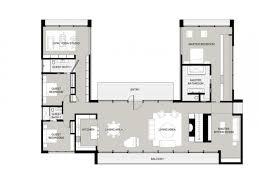 Coolest U Shaped Ranch House Plans Jk House Plans