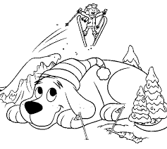 clifford coloring pages free captain underpants wedgie power