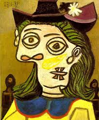 Dora Maar In An Armchair Pablo Picasso Dora Maar Sitting 1939
