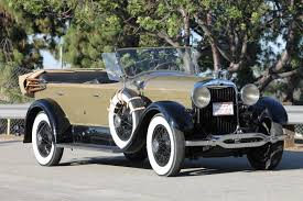 1928 lincoln sport touring by locke the vault classic cars