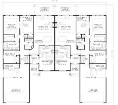 Multi Family Apartment Floor Plans 72 Best Images About Duplex Floor Plans On Pinterest Traditional
