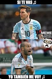 Memes Sobre Messi - messi se va de argentina pero no puede escapar de los memes el