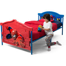Spiderman Bed Tent by Toddlers Bed Cool Kids Beds Design With Brown Wooden Finished