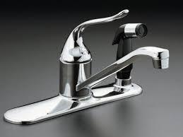 Kitchen Faucet With Spray Kitchen Fabulous Faucet Hose Kohler Kitchen Sinks Detachable