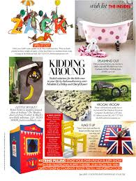 emma molony wallpaper featured in country and town house magazine