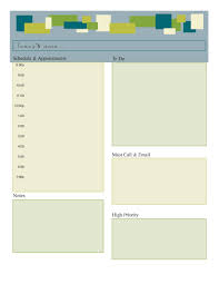 Daily Planners Templates Planner Page Templates Administrative Services Manager Sample Resume
