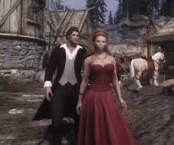wedding dress skyrim ashara for cbbe unp favoredsoul at skyrim