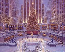 christmas winter scenes wallpaper amazing christmas winter scenes