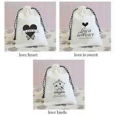 muslin favor bags vintage wedding muslin favor bags set of 12 favor bags favor