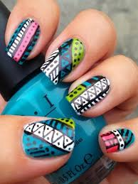 102 best nail art afro tendance images on pinterest aztec nails