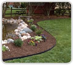 Metal Flower Bed Edging Edgepro Vinyl Landscape Edging By Dimex Llc