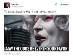 Chicago Memes - hamilton tickets in chicago memes tweets for hamiltonchi heavy