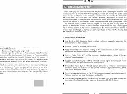 rca remote manual 24gavsender rca av sender u0026 ir remote extender user manual