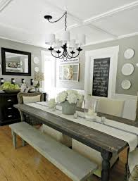 Centerpiece Ideas For Dining Room Table 70 Lasting Farmhouse Dining Room Table And Decorating Ideas