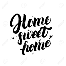 home sweet home decorations home sweet home calligraphic quote with splash background hand
