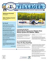 locust lake villager summer 2017 by niki jones agency issuu