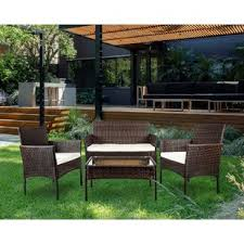 Patio Outdoor Furniture Clearance Clearance Patio Furniture Sets Wayfair