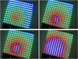 programmable color led array from evil mad scientist laboratories