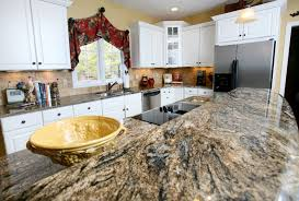 exellent white granite countertops with cabinets colors for bianco