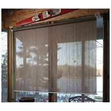 amazon com castlecreek sunscreen roll up window shade hunter