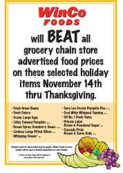 winco thanksgiving turkey specials a thrifty recipes crafts