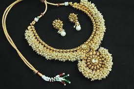 copper necklace set images Buy designer beautiful kundan pearl copper necklace set online JPG