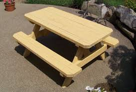 childrens wooden picnic table benches 55 kids picnic table wood cypress kid 039 s picnic table