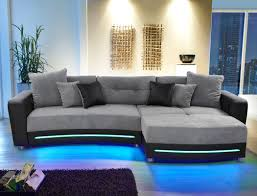 wohnlandschaft 900 multimedia sofa larenio hifi wohnlandschaft 322x200 cm grau