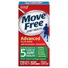 Joint Comfort Dietary Supplement Move Free Joint Health Advanced Glucosamine Chondroitin Plus Msm