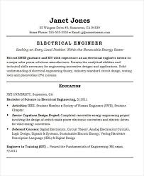 Electrical Engineer Resume Sample by 25 Best Engineering Resume Templates Free U0026 Premium Templates
