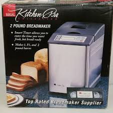regal kitchen pro collection regal kitchen pro collection 2 pound breadmaker valued at 70