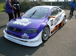 opel race car ric wood motorsport opel astra v8 coupe